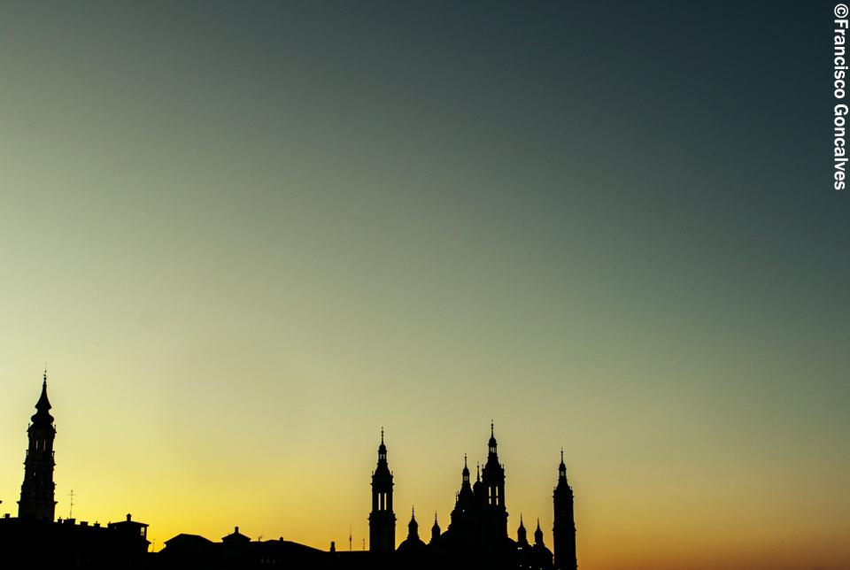 Silueta al atardecer / Silhouette at sunset