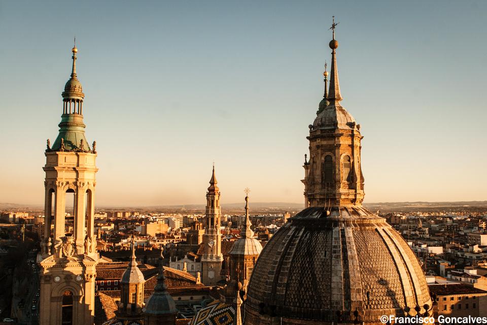 Desde lo alto de una de las torres / From the top of one of the towers