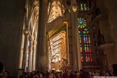 La Sagrada Familia free entrance journey