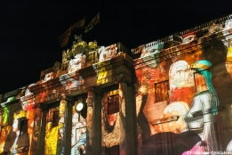 Mapping at the City Hall facade