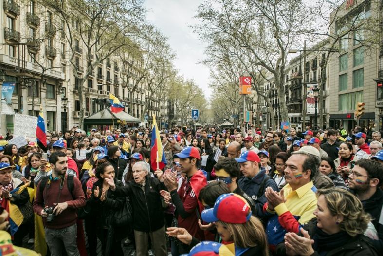 """#SosVenezuela Cadena Humana """"Denunciémos a los Cómplices"""" #22M"""