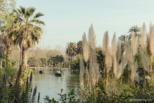 Botes de alquiler en el lago