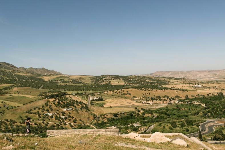 Vista desde las Tumbas Merínidas