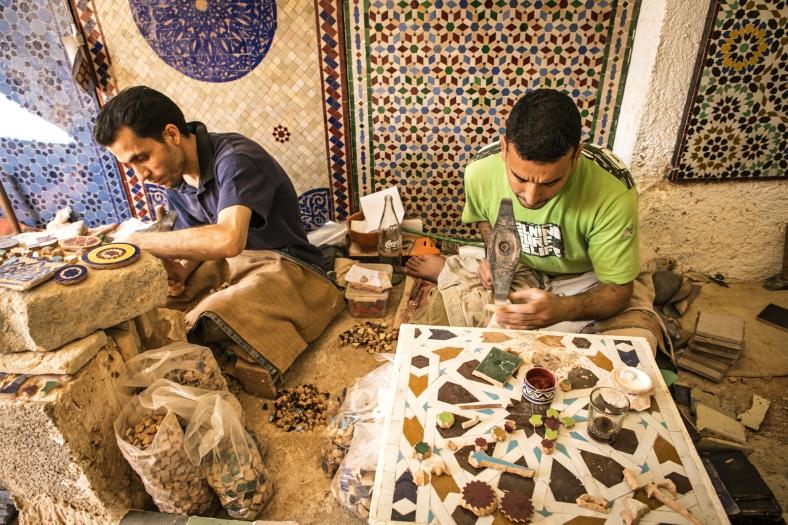 Cooperativa de artesanos de mosaicos y azulejos