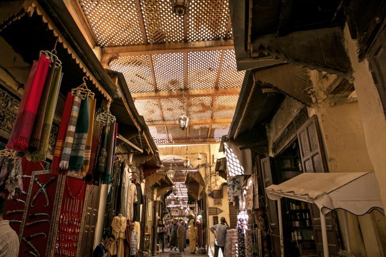 Los techos de la medina dan ese ambiente mágico