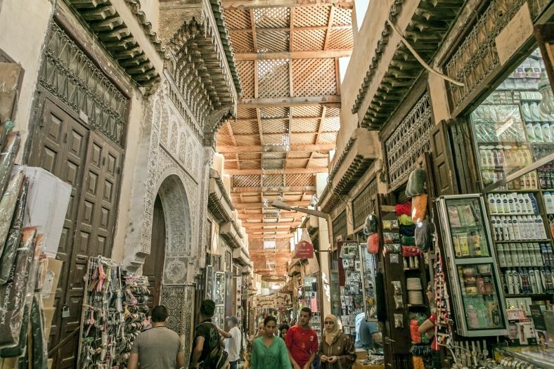 Otra calle de la medina