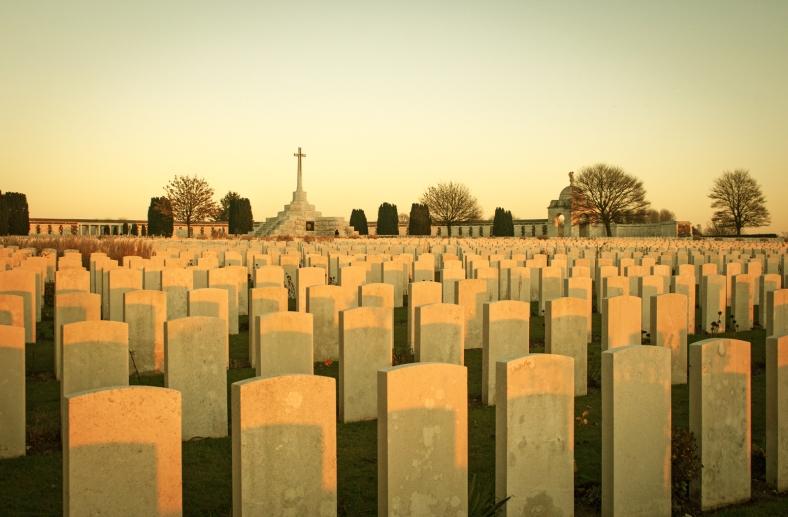 11.954 soldados están enterrados en Tyne Cot