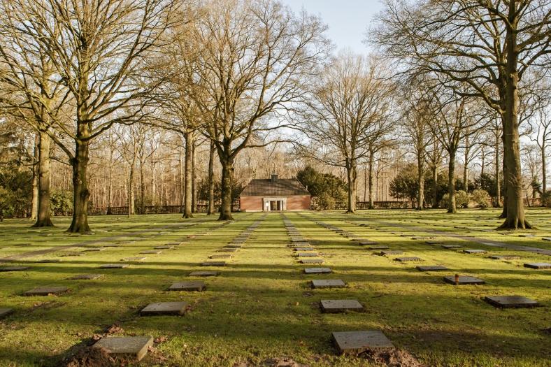 El Cementerio de Guerra Alemán de Vladslo