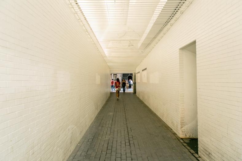 Pasillo junto al Palau Güell