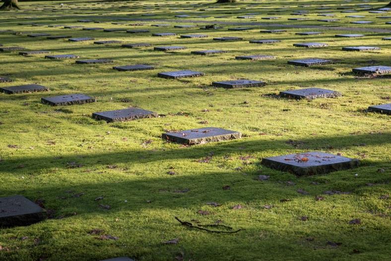 En Vladslo están enterrados 25.644 soldados alemanes