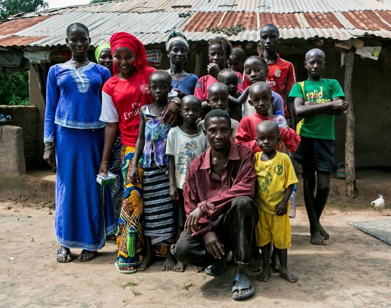 La hospitalidad de los gambianos