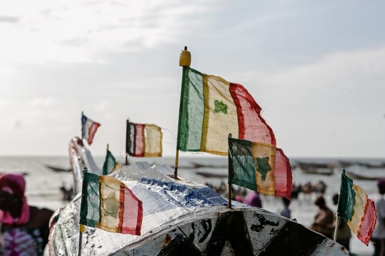 Las banderas de Senegal