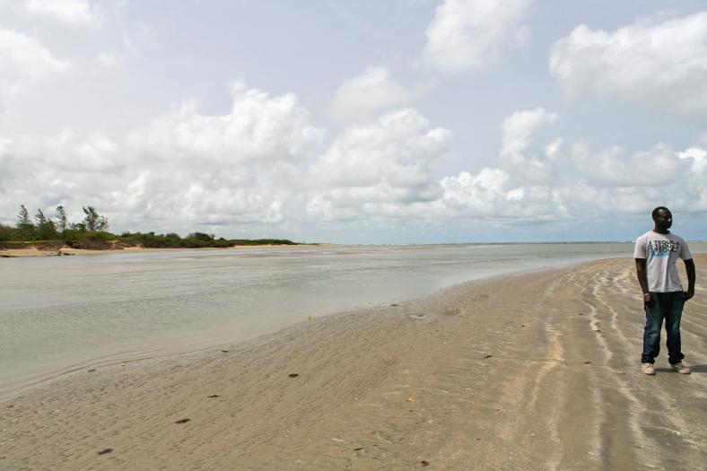 La frontera con Senegal