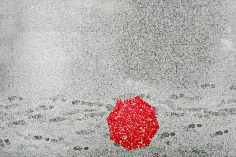 Nieve en Barcelona!
