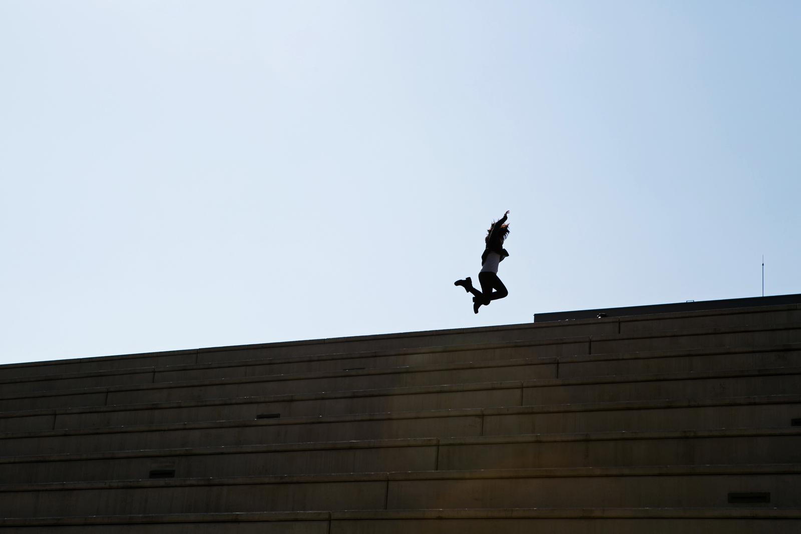 El clásico salto