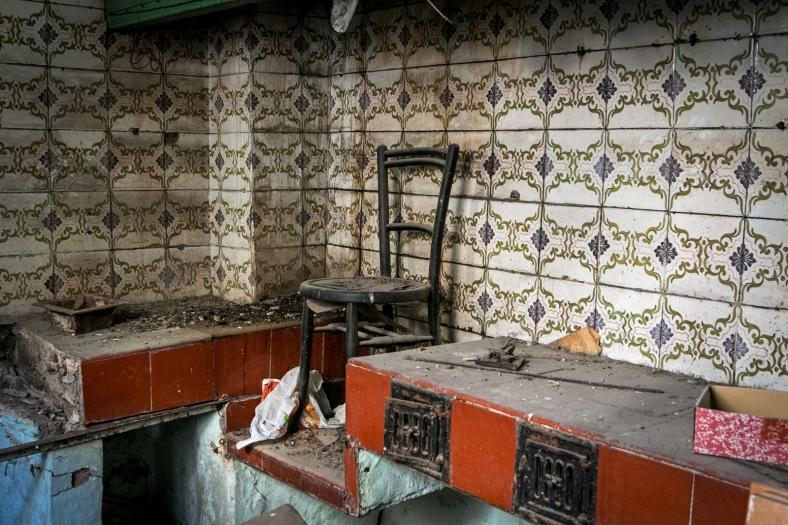 La cocina vio tiempos mejores