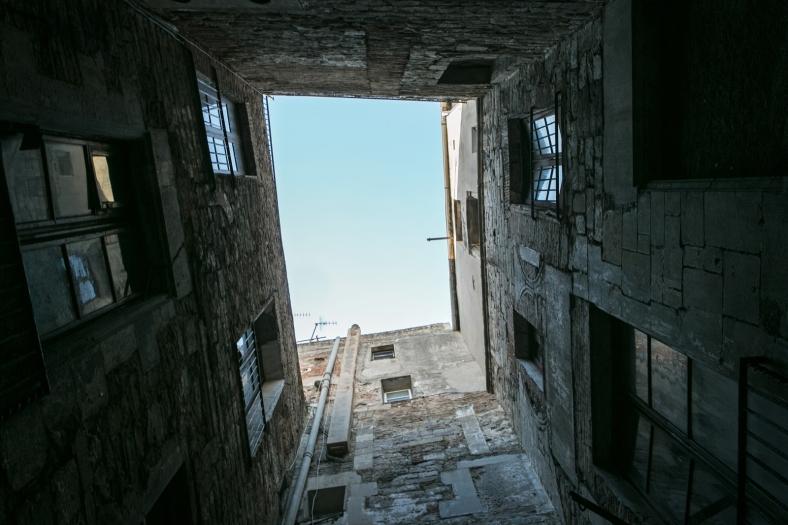 La vista desde abajo