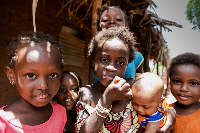 La alegría de los niños es contagiosa