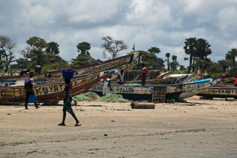 Gunjur Fishing Village