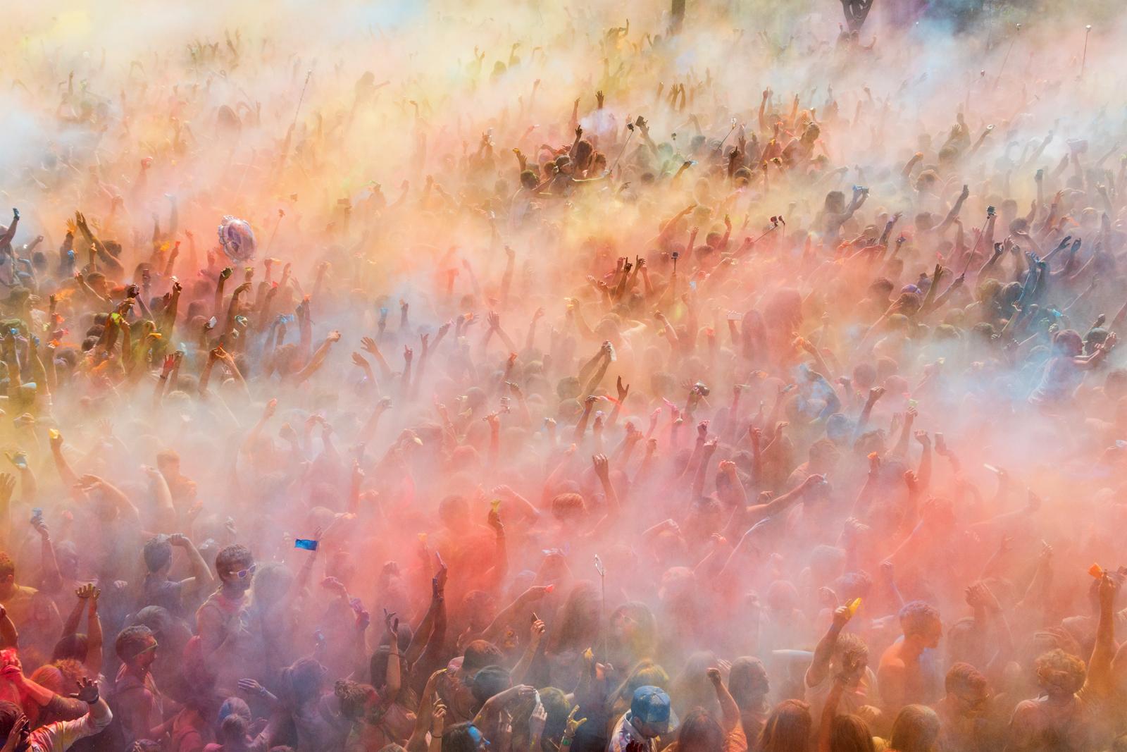 Explosión de colores!