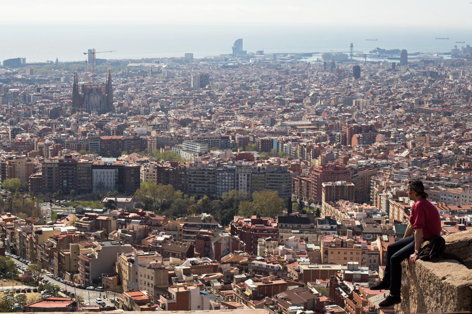 Barcelona a sus pies