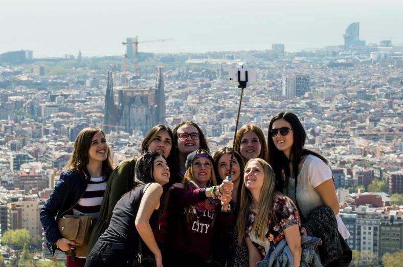 El búnker no se ha salvado del selfie stick