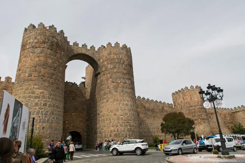 Una de las puertas de la ciudad medieval