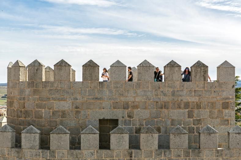 La visita a la muralla vale la pena