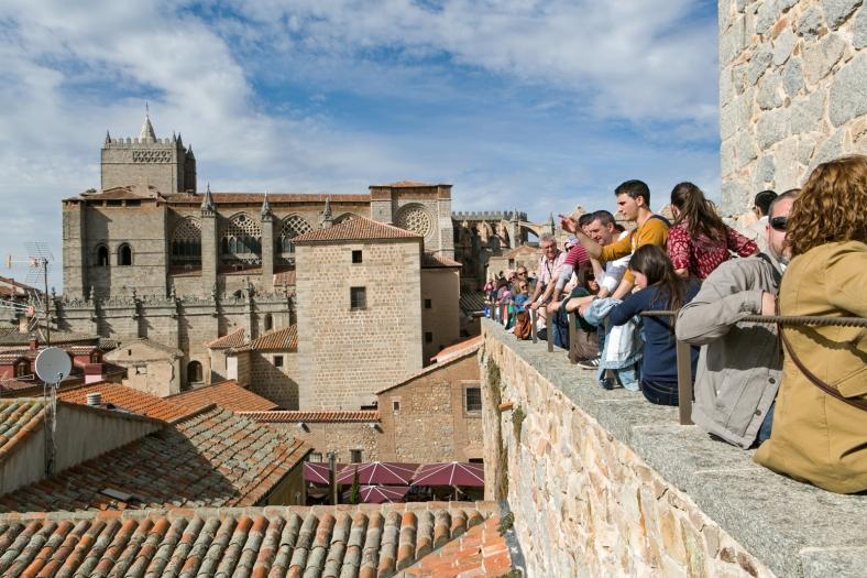 La muralla es la principal atracción turística