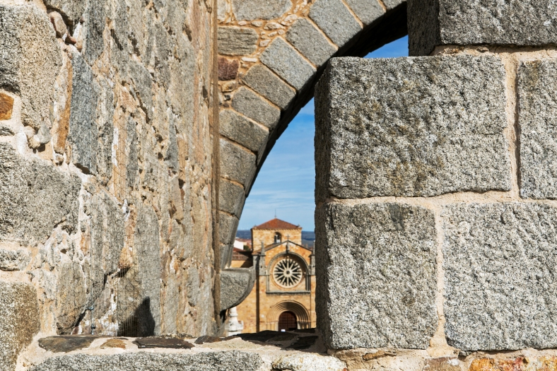 Detalles desde la muralla