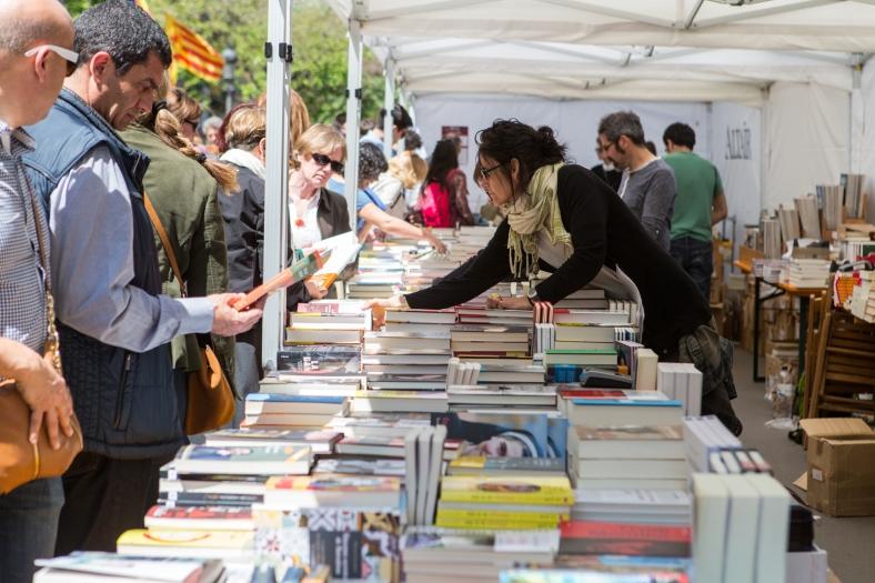 Libros en Rambla Catalunya