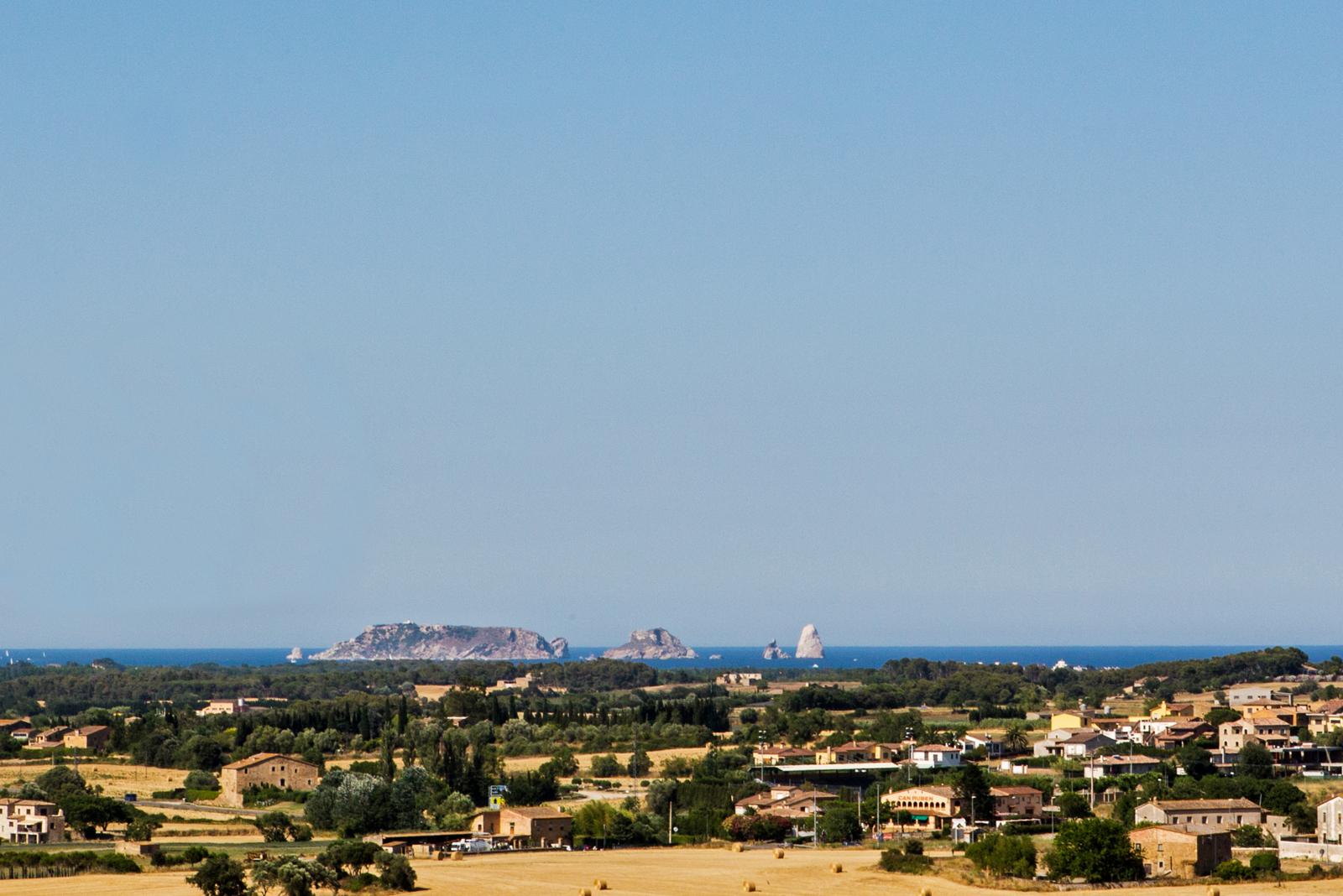 Las vistas desde el mirador Josep Pla