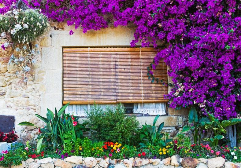 Una ventana colorida