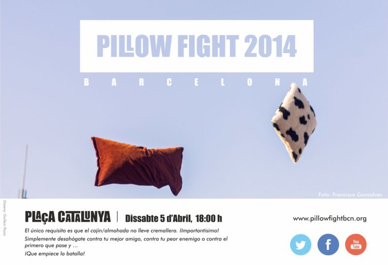 Pillow Fight 2014 - Barcelona
