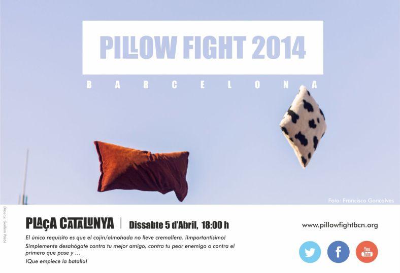 Pillow Fight 2014 - Barcelona
