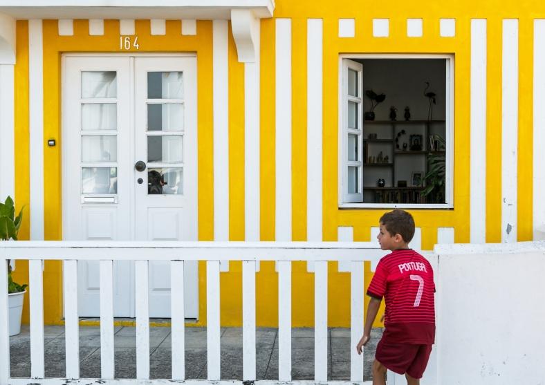 Ronaldo en Aveiro