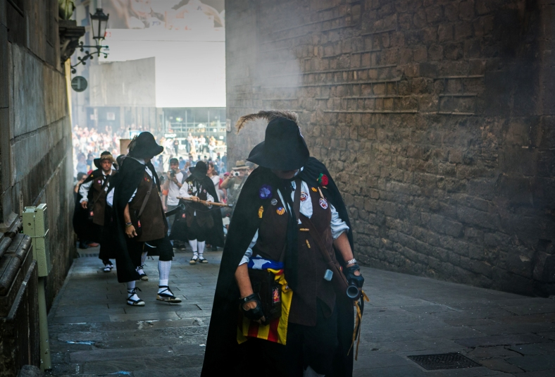 Camino a Plaça Sant Jaume