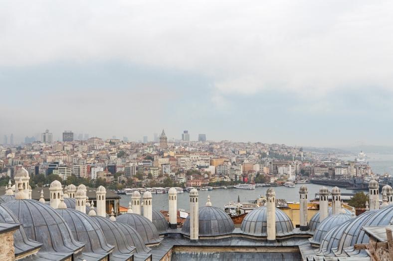 Parte del complejo de Süleymaniye