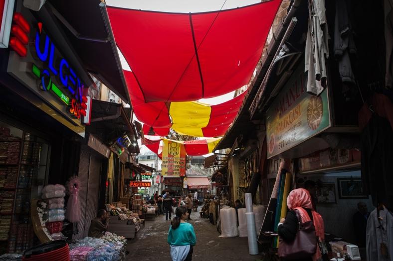 Mercado en los alrededores