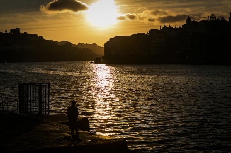 Atardecer en Porto