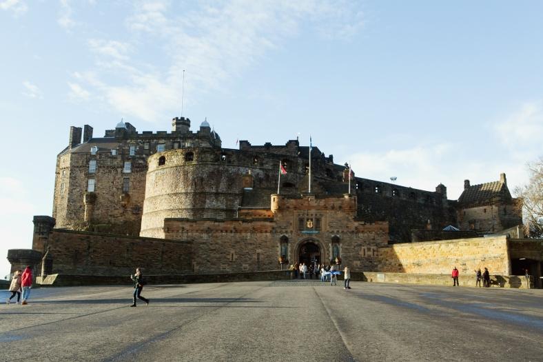 El Castillo de Edimburgo, la atracción más popular (y cara!) de la ciudad.