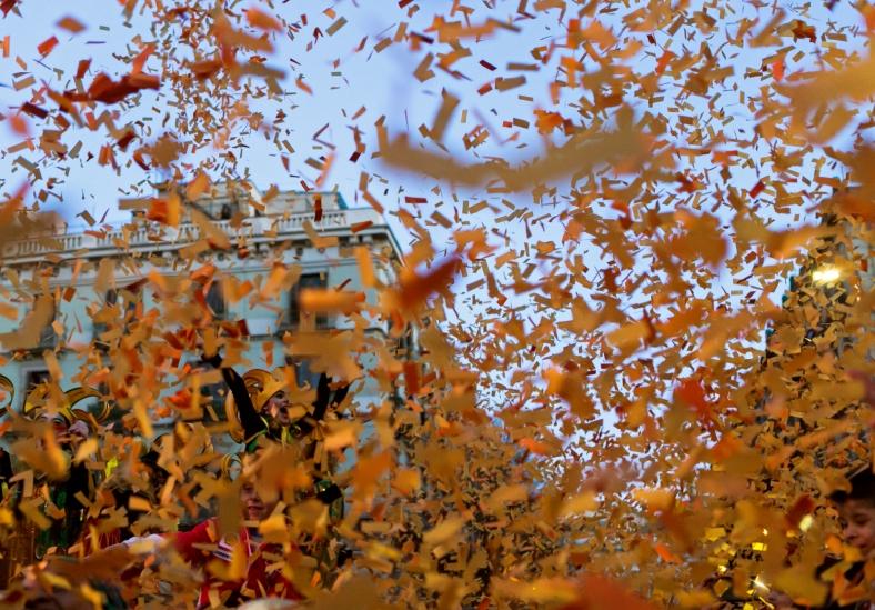 Lluvia de confeti