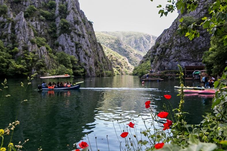 el Lago Matka