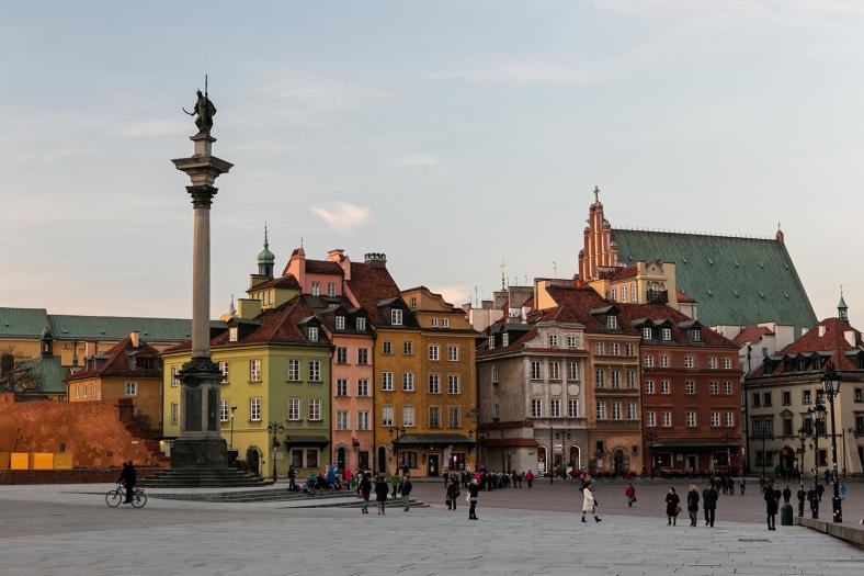 El casco antiguo de Varsovia