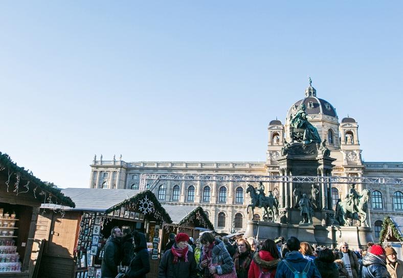 Mercado de Navidad en Maria-Theresien-Platz