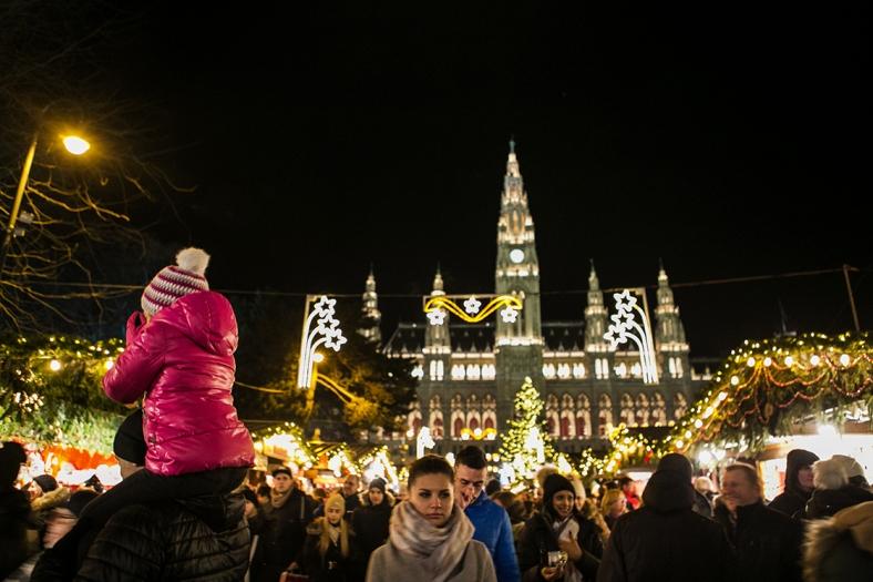 El impresionante mercado de Rathaus