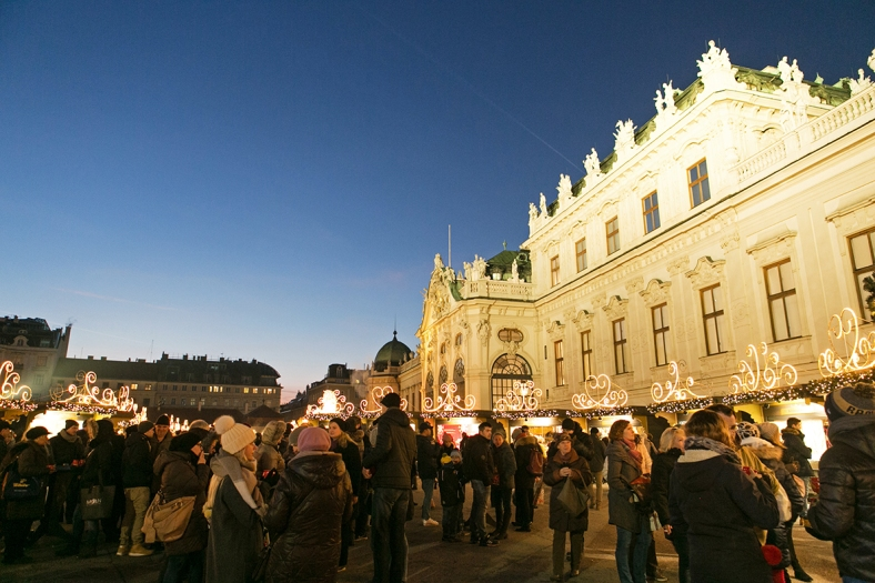 Mercado en el Palacio de Belvedere