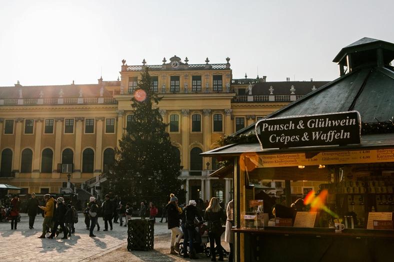Mercado de Navidad en el Palacio de Schönbrunn