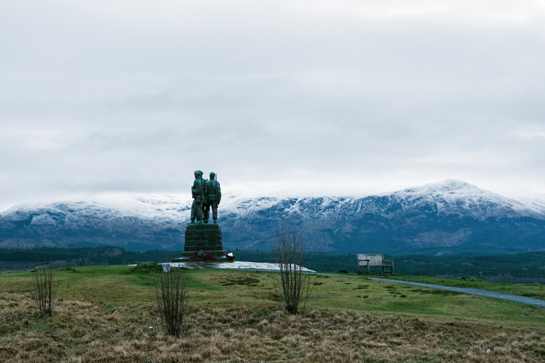 Commando Memorial en las Highland