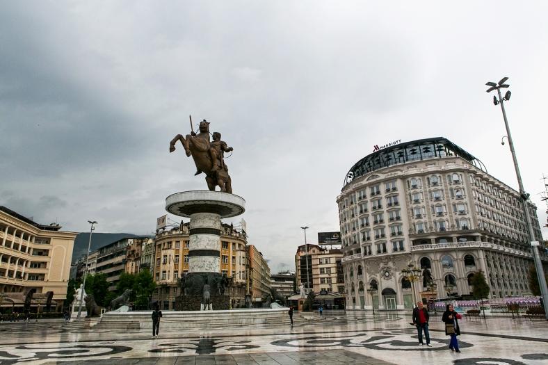 Skopje y sus estatuas